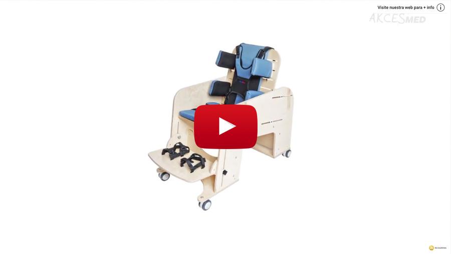 Cómo utilizar y ajustar la silla de interior Jumbo