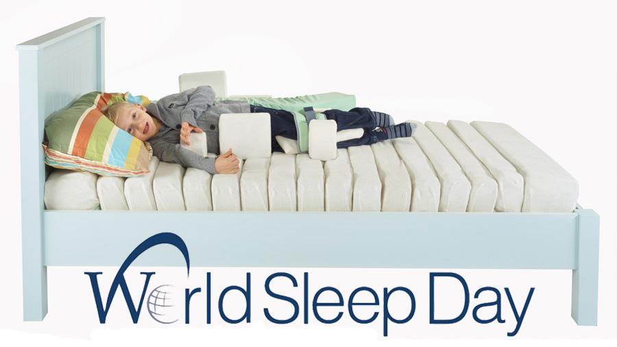 """Con el lema """"Dormir profundamente, y con un posicionamiento correcto, nutre la vida"""" hoy celebramos el Día Mundial del Sueño"""