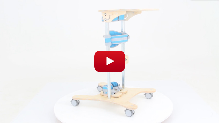 El bipedestador Smart incorpora un nuevo cinturón pélvico
