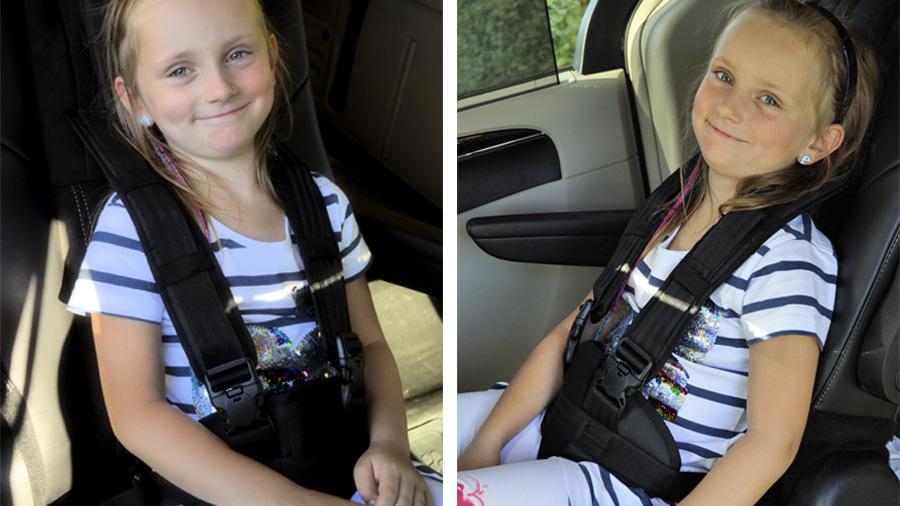El cinturó Si Po permet posicionar a un usuari correctament en un vehicle