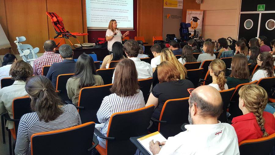 Gran acceptació del Rehacademia «Principis bàsics de la sedestació» que s'ha celebrat avui a Madrid