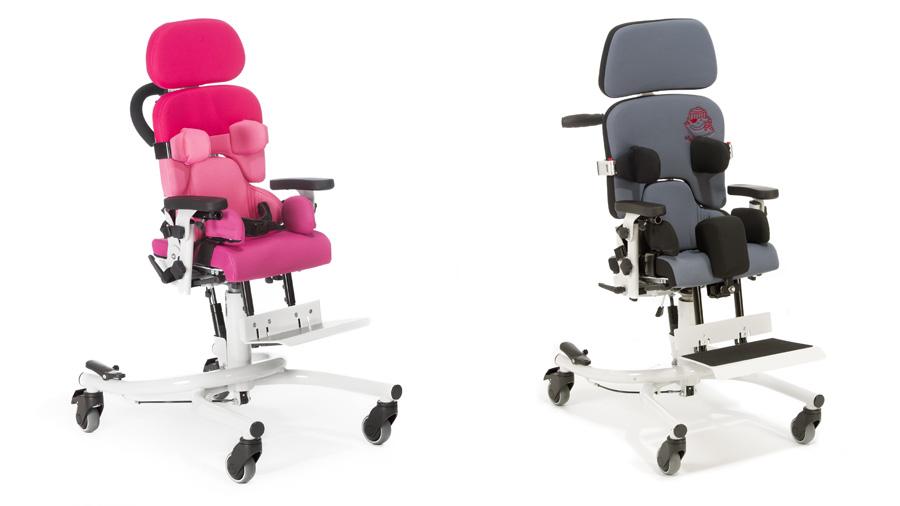 Nous colors per a la gamma de cadires terapèutiques Madita