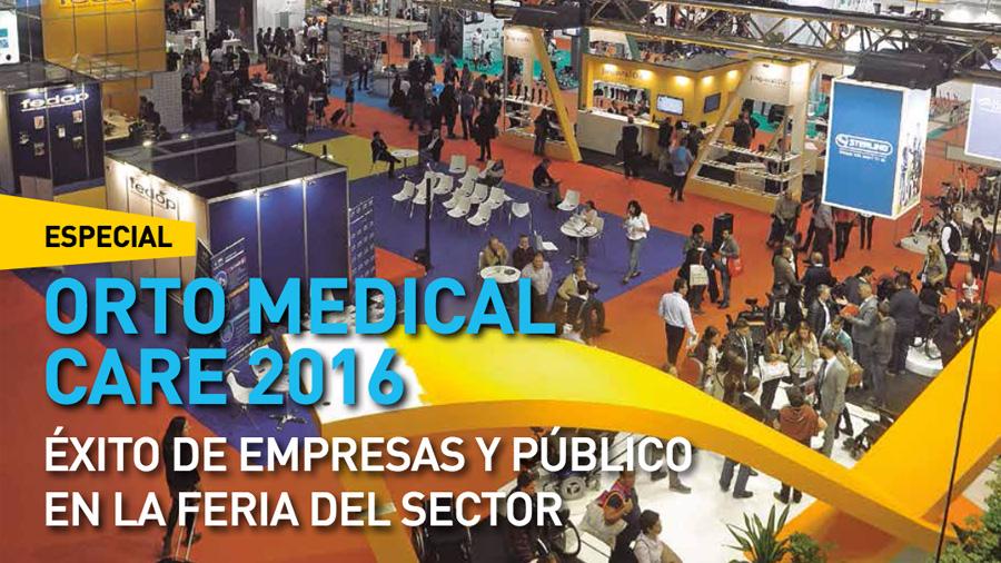 Ortoprotésica publica un especial sobre la feria Orto Medical Care 2016, en la que Rehagirona participamos