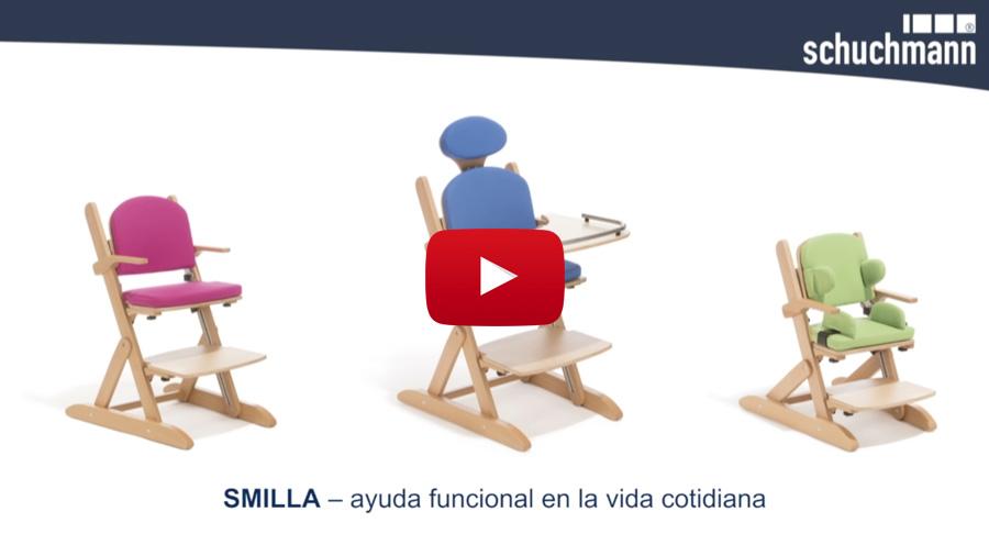Vea las características más destacadas de la silla de interior Smilla